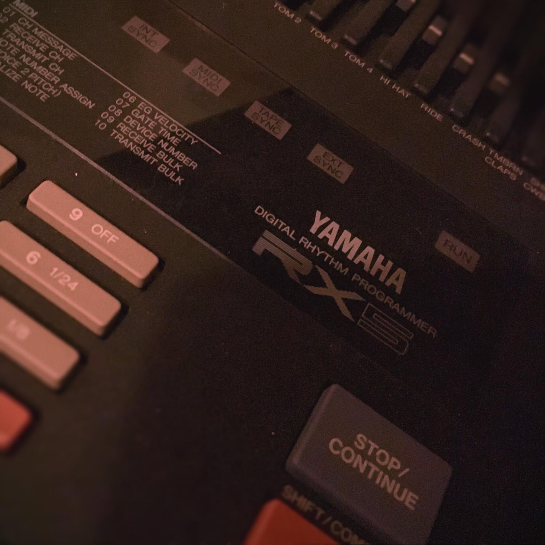 Vintage RX5 Drumcomputer